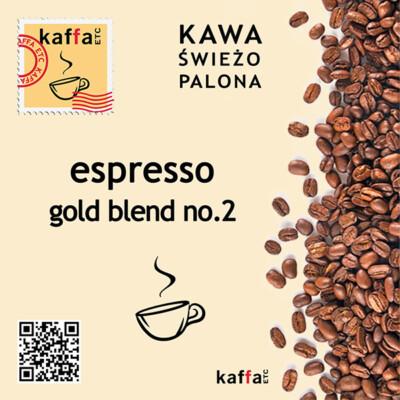 mieszanka kawowa Espresso Gold Blend No2