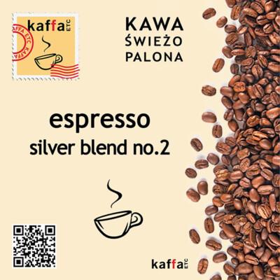 mieszanka kawowa Espresso Silver Blend No2