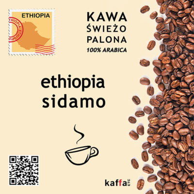 kawa arabica Ethiopia Sidamo