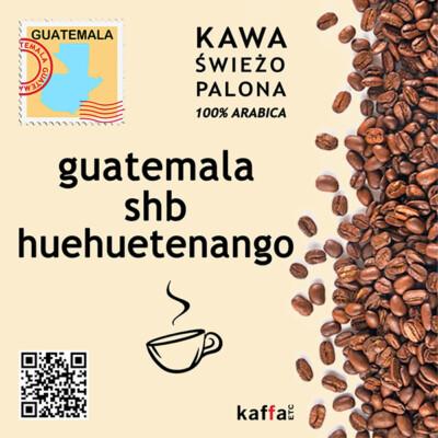 kawa arabica Guatemala shb Huehuetenango