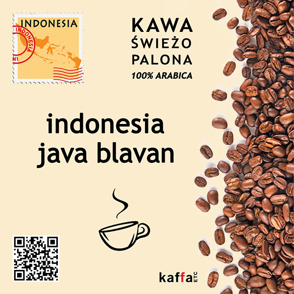 kawa arabica Indonesia Java Blavan