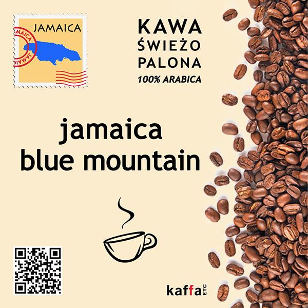 kawa arabica Jamaica Blue Mountain