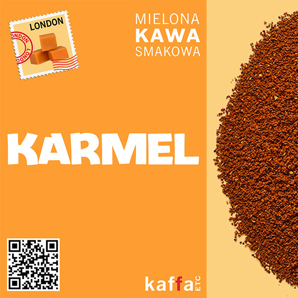 Kawa smakowa London Karmel