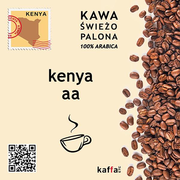kawa arabica Kenya AA