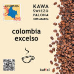 kawa arabica Colombia Excelso